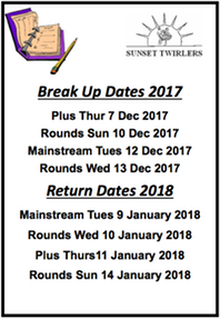 Ad break up and return dates